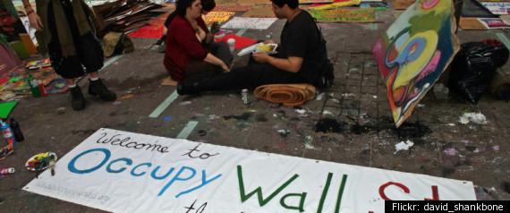 ART OCCUPY WALL STREET