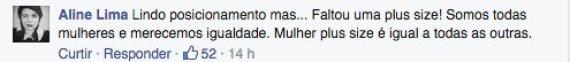 comentário elle facebook