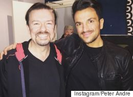 Peter Andre Lands David Brent Film Role