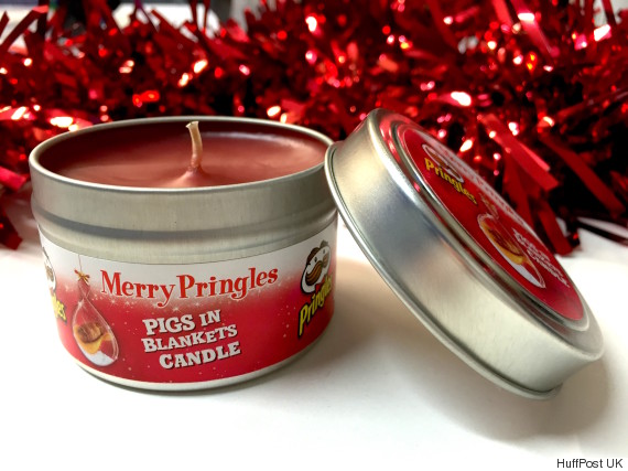 pringles candle
