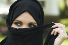 Woman wearing a hijab | Pic: Getty