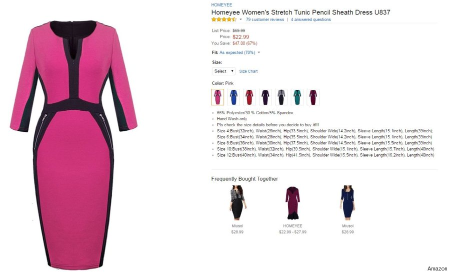 homeyee amazon dress