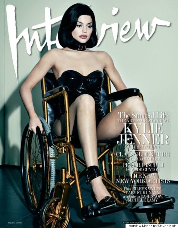 kylie jenner wheelchair