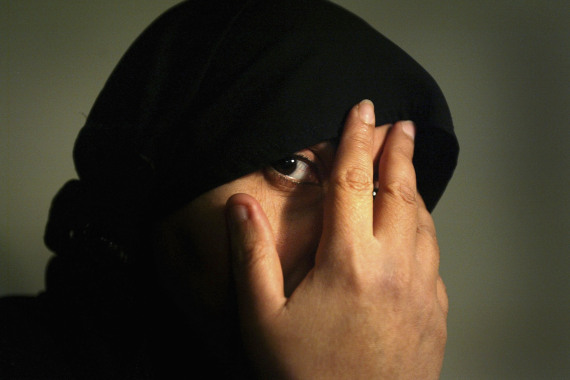 cover face muslim