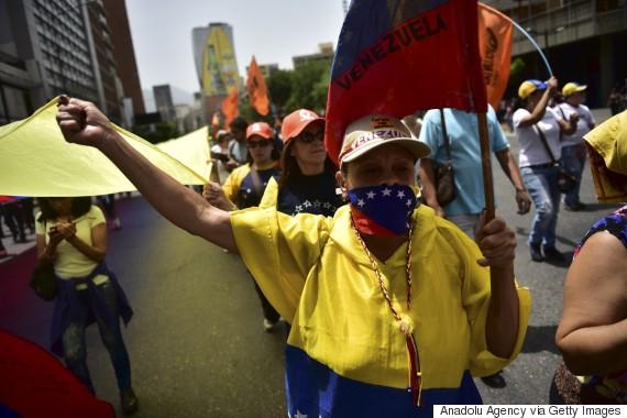 election protest venezuela