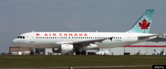 AIR CANADA STRIKE FLIGHT ATTENDANTS