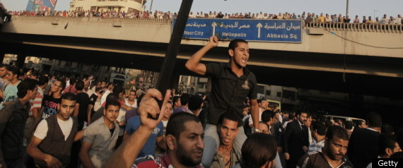 EGYPT CHRISTIAN PROTESTERS