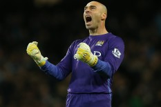 Willy Caballero of Manchester City | Pic: Getty