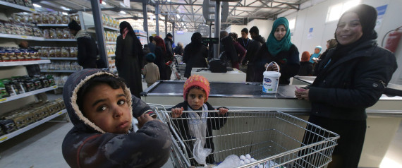 REFUGEE SUPERMARKET
