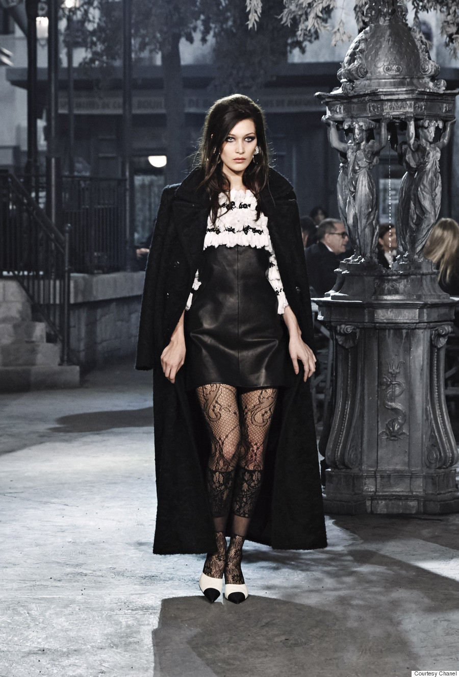 bella hadid chanel