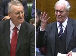 Watch Hilary And Tony Benn's Remarkable Speeches Side-By-Side With Britain On Brink Of War