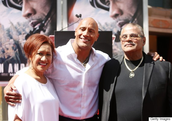 dwayne johnson dad