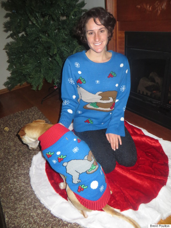 christmas dog sweaters ugly