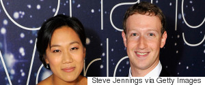 MARK ZUCKERBERG PRISCILLA