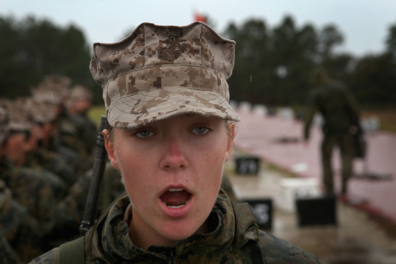 women in the marines us