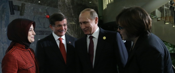 DAVUTOGLU AND PUTIN