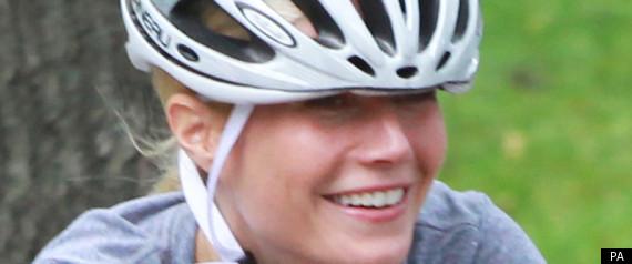 GWYNETH PALTROW CYCLING