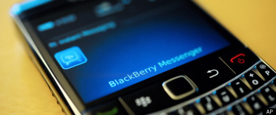 Blackberry Outage