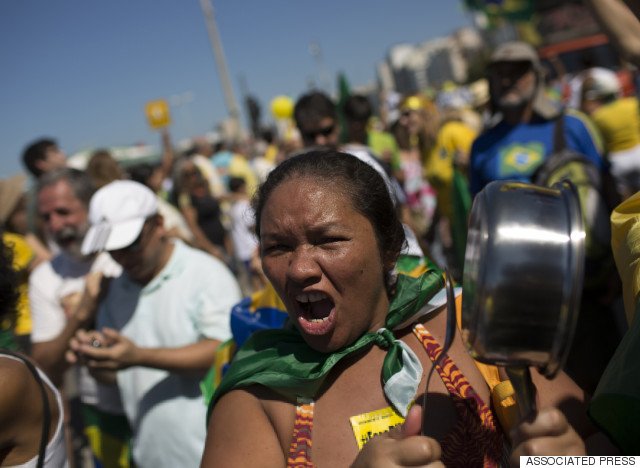 dilma rousseff protests