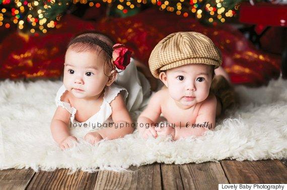 babies christmas tree