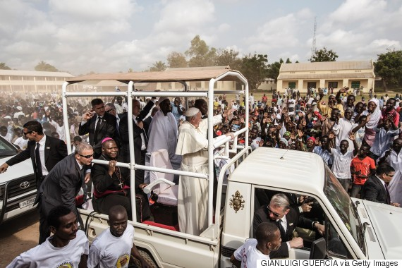 pope francis africa