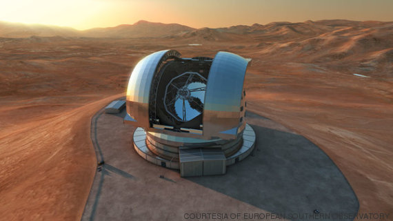 telescópio europeu