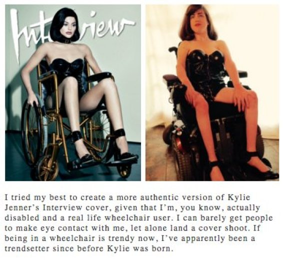 kylie wheelchair
