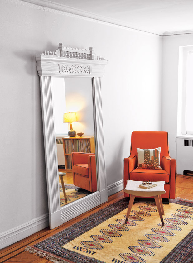This Old House Salvage Style Projects Pier Mirror