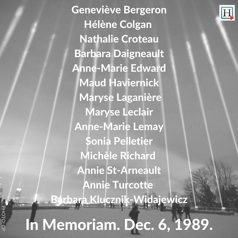 montreal massacre names