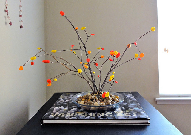 Craft Of The Day Fall Felt Tree Huffpost