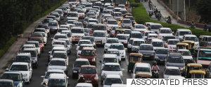 DELHI CARS POLLUTION