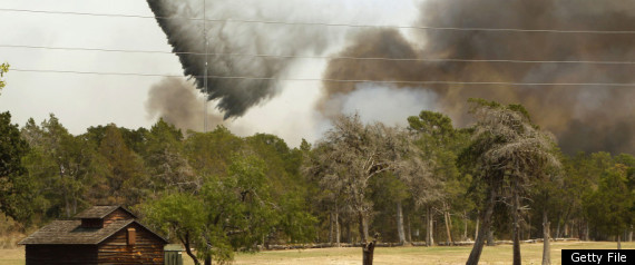 TEXAS WILDFIRES BASTROP STATE PARK
