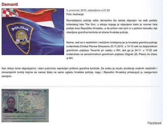 croatia facebook