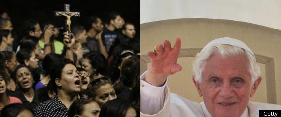 EGYPT VIOLENCE POPE