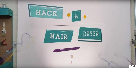 hack a hair dryer