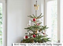 Les villes ramassent vos arbres de Noël