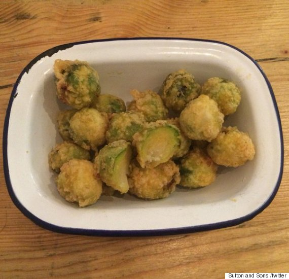 deepfried brussels sprouts