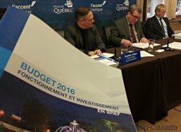Hausse de taxes de 1,9 % à Québec