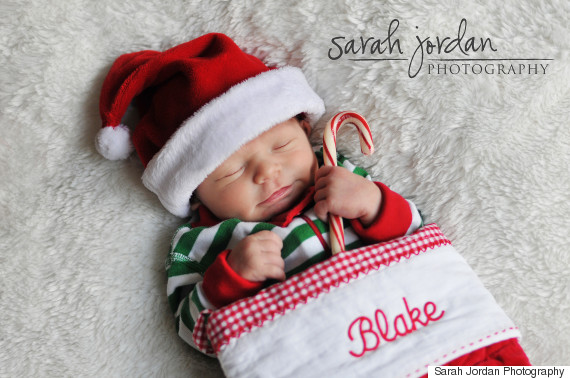 14 Creative Ways To Document Baby's First Holiday | HuffPost