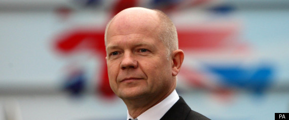 WILLIAM HAGUE LIBYA