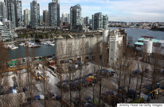 vancouver industrial land
