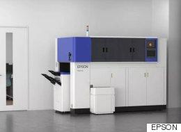 엡손 사무실용 종이 재생산 기계 발표(영상)