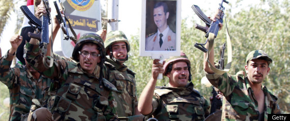 Syria Troops Defectors Clash