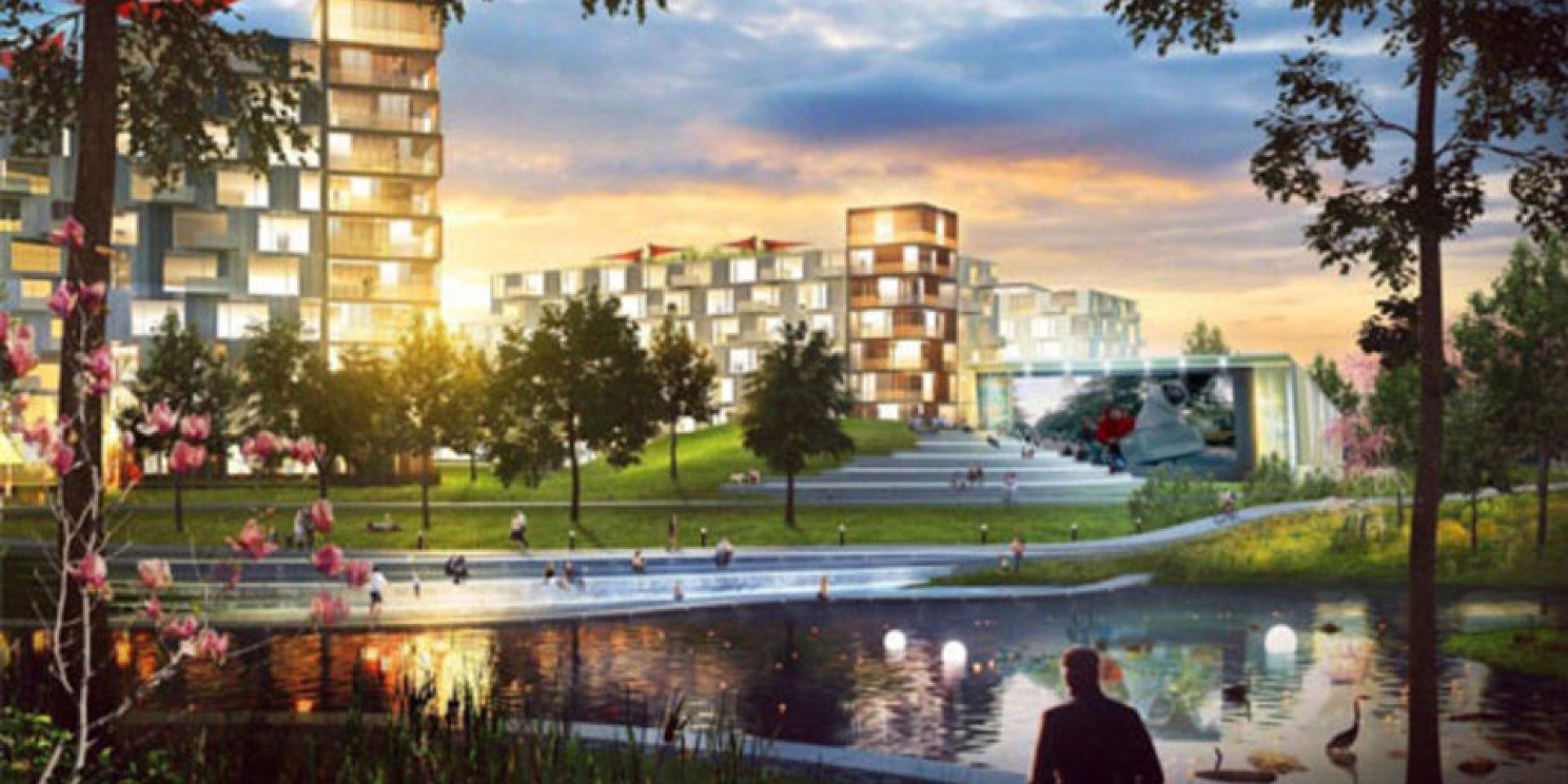 Solar uniquartier un projet immobilier d 39 un milliard voit for Concevoir mon propre immeuble