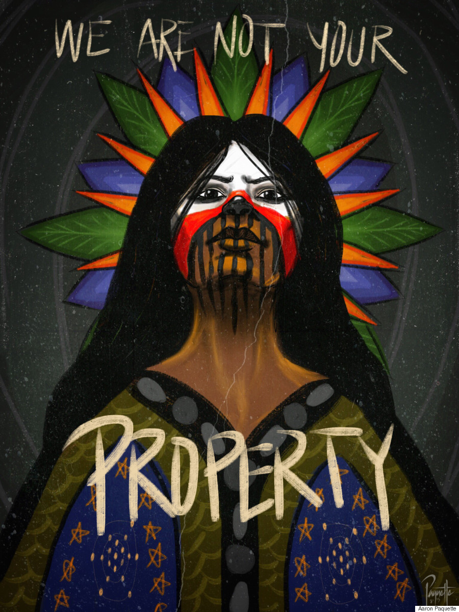 we are not your property