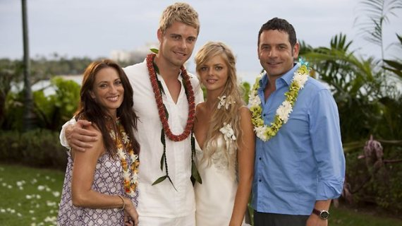 indi romeo home and away wedding