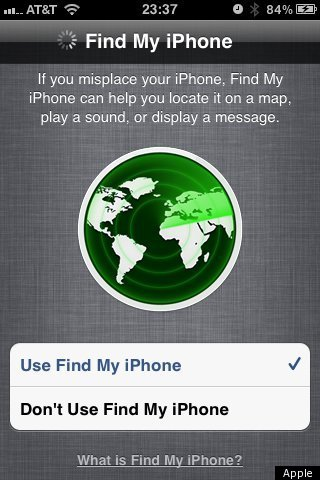 How do i use find my iphone