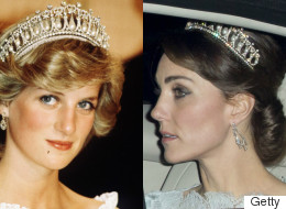 Duchess Of Cambridge Wears Princess Diana's Tiara To Royal Event