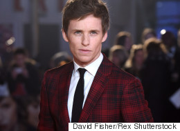 Eddie Sports Eye-Catching Suit At 'Danish Girl' Premiere