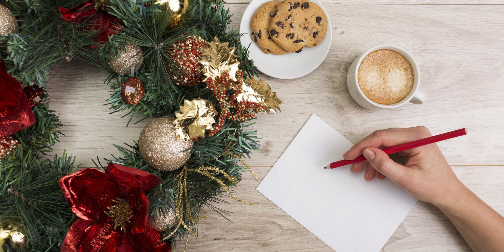 Claves para escribir bien tus felicitaciones de navidad - Como hacer una felicitacion de navidad original ...
